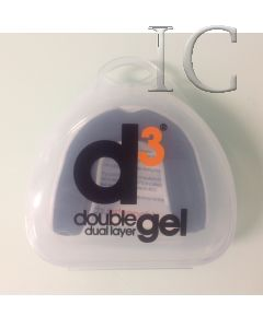 D3 Double Gel Mouthguard White/Black